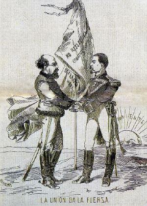 La unión da la fuerza, José María Villasana, en El Ahuizote, 26 de mayo de 1876. Colección particular.